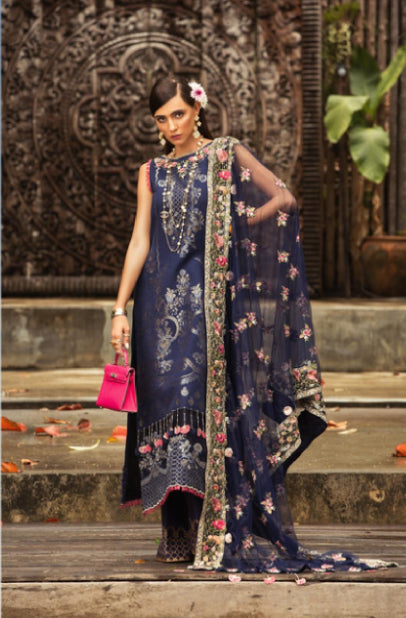 wishcart-store - Noor By Saadia Asad Luxury Lawn 2019 11A - wishcart-store -