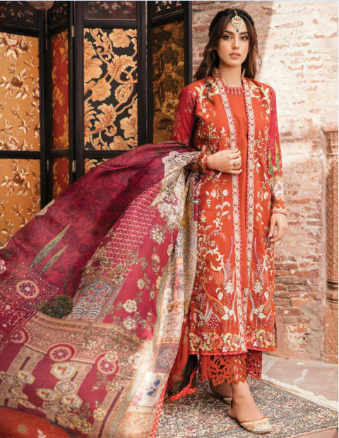 Unstitched Pakistani style suit@wishcart.in