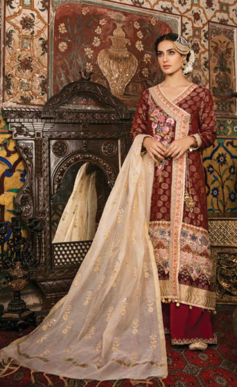 Pakistani style heavy suit for EID by Qalamkar@wishcart.in
