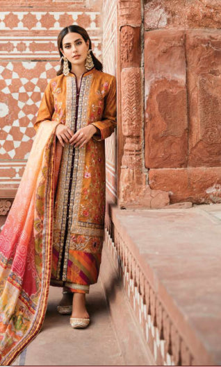 Unstitched suit by Qalamkar@wishcart.in