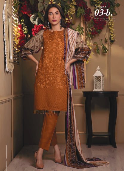 wishcart-store - Sahil Luxury Embroidered Lawn Festive Collection 2019 3B - wishcart-store -