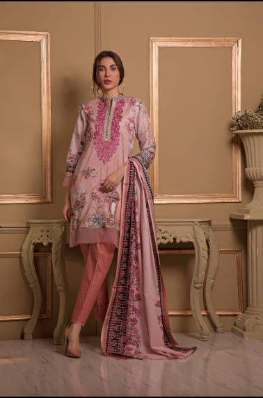 wishcart-store - Sahil Luxury Embroidered Lawn Festive Collection 2019 4B - wishcart-store -