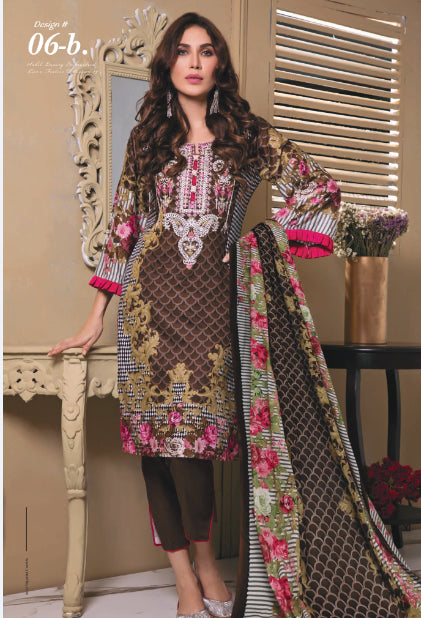 wishcart-store - Sahil Luxury Embroidered Lawn Festive Collection 2019 5B - wishcart-store -