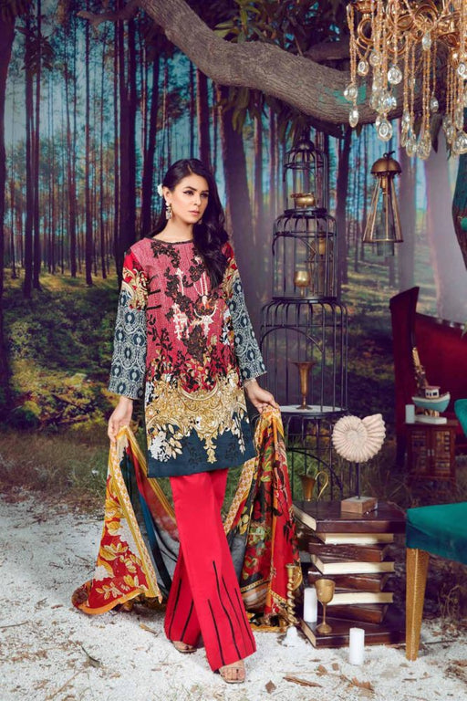 wishcart-store - Firdous Virasat Summer Lawn '19 5A - wishcart.in -