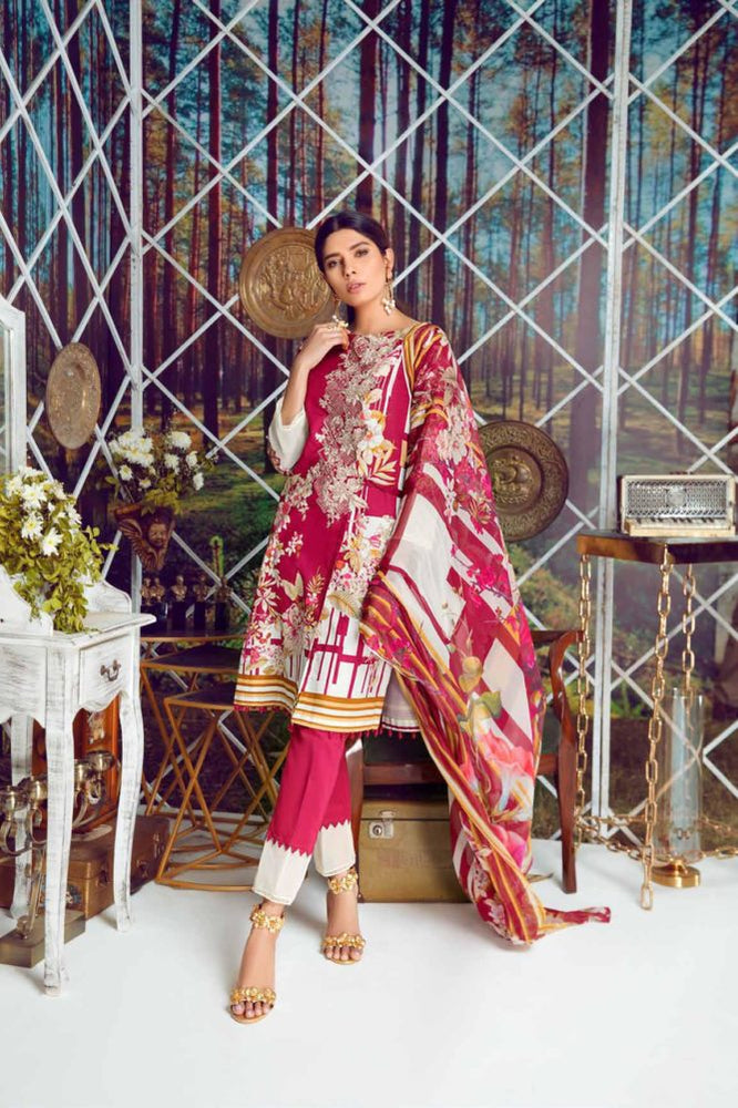 wishcart-store - Firdous Virasat Summer Lawn '19 18A - wishcart.in -