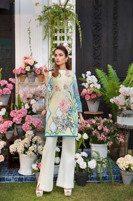 wishcart-store - Solitaire Kurti From Firdous Vol 2 '19 2A - wishcart-store -