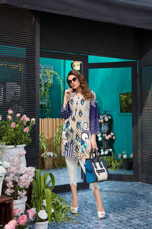 Solitaire Kurti From Firdous Vol 2 '19 3A