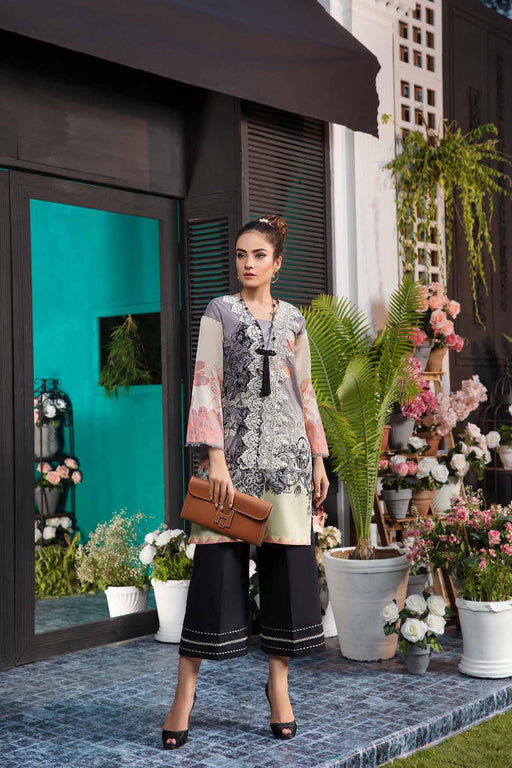 Solitaire Kurti From Firdous Vol 2 '19 5A