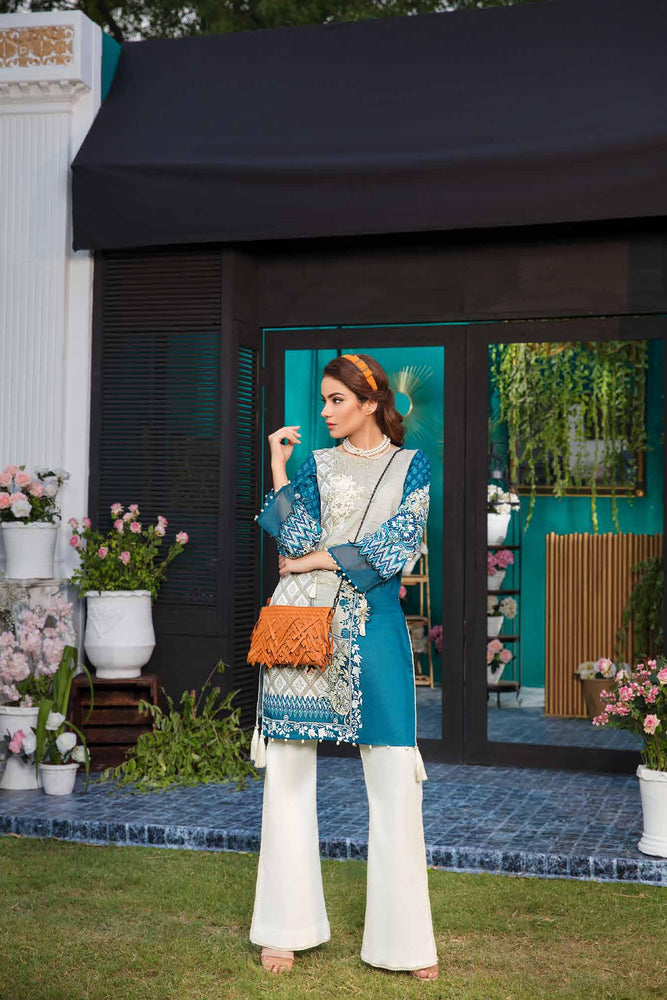 Solitaire Kurti From Firdous Vol 2 '19 10A