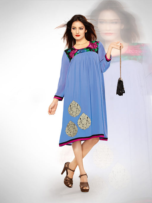 Casual and party wear kurti@wishcart.in