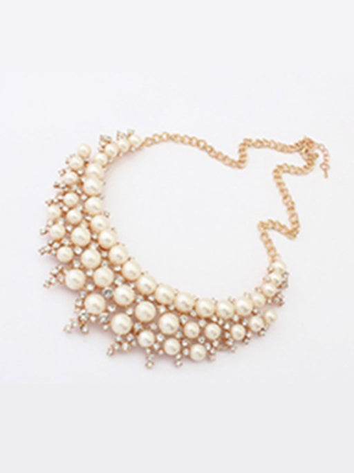 Fancy pearl necklace@wishcart.in