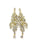 Crystal Rhinestone Drop Earrings - wishcart.in