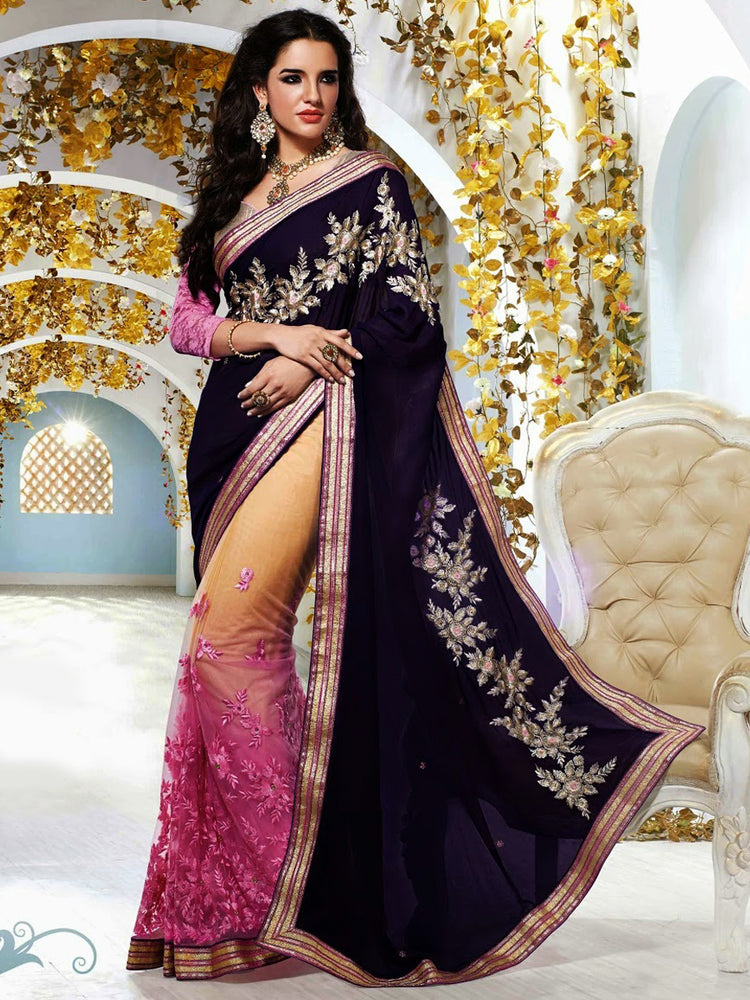 Wedding wear designer saree@wishcart.in