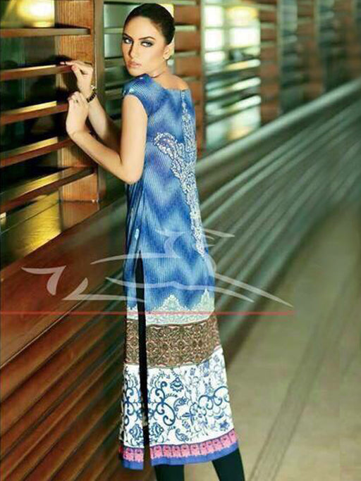 Unstitched designer kurti by Lala La Femme@wishcart.in