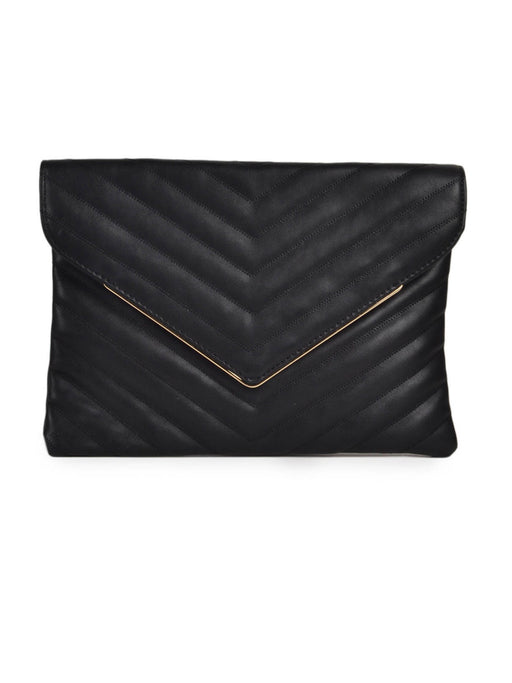 Carlton London black clutch@wishcart.in