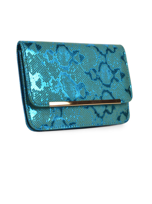 Party wear blue clutch@wishcart.in