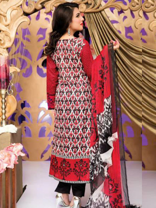 Falak Semi Stitched Original Pakistani Dresses & Pearl Suits With Clutch 11 wishcart.in