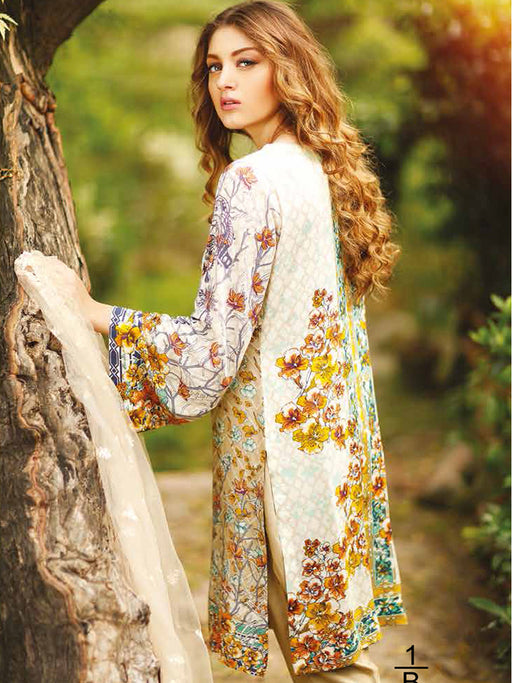Printed linen Rajbari suit collection@wishcart.in
