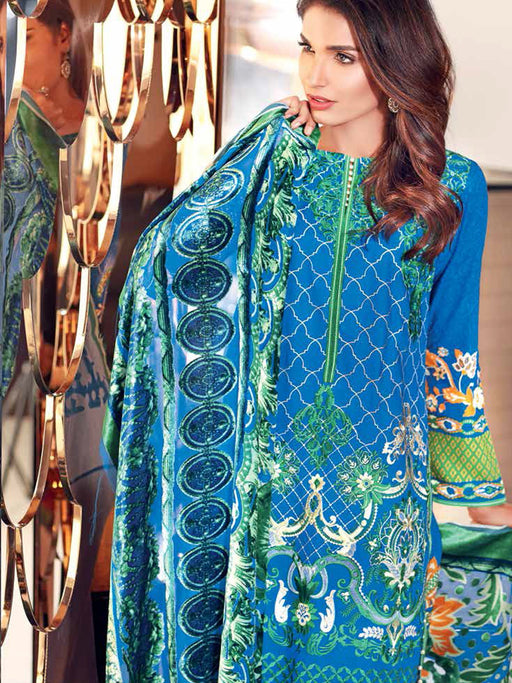 Gul Ahmed Silk Velvet Original Pakistani Dresses & Suits Collection - 08 wishcart.in
