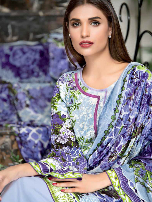 Gul Ahmed Silk Velvet Original Pakistani Dresses & Suits Collection - 04 wishcart.in