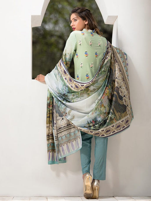 Firdous Exclusive Eid Collection- Tropical Tranquility 02 wishcart.in
