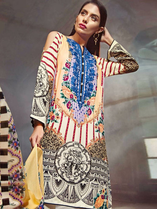 Gul Ahmed Winter Original Pakistani Dresses & Suits Collection 17 - 08 wishcart.in