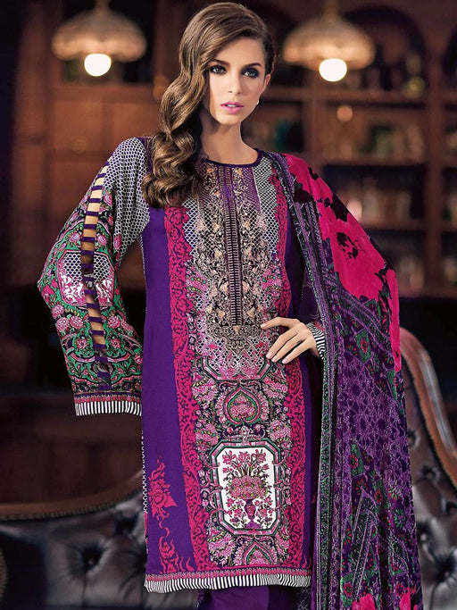 Gul Ahmed Winter Original Pakistani Dresses & Suits Collection 17 - 34 wishcart.in