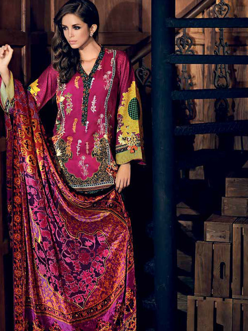 Gul Ahmed Winter Original Pakistani Dresses & Suits Collection 17 - 32 wishcart.in