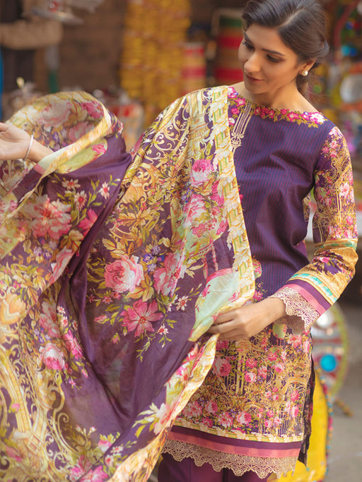 Firdous Spring Summer Lawn Collection 2018 02 wishcart.in