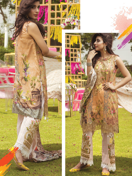 Unstitched designer suit by Rangrasiya@wishcart.in