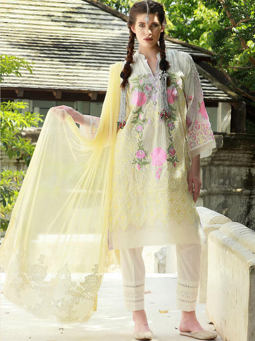Chikankari designer suits for party wear@wishcart.in