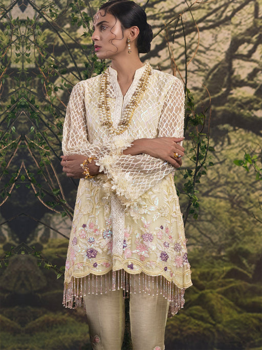 Qalamkar Foret De Luxe Wedding Collection 2018