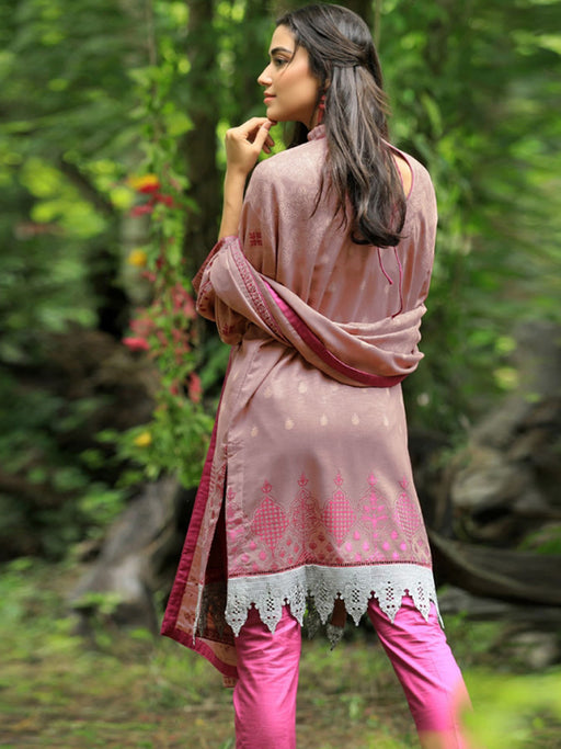 Pink Pushtaini winter collection by LSM @wishcart.in