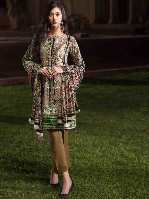 Gul Ahmed Winter Original Pakistani Dresses & Suits Collection 2018 - 013 wishcart.in