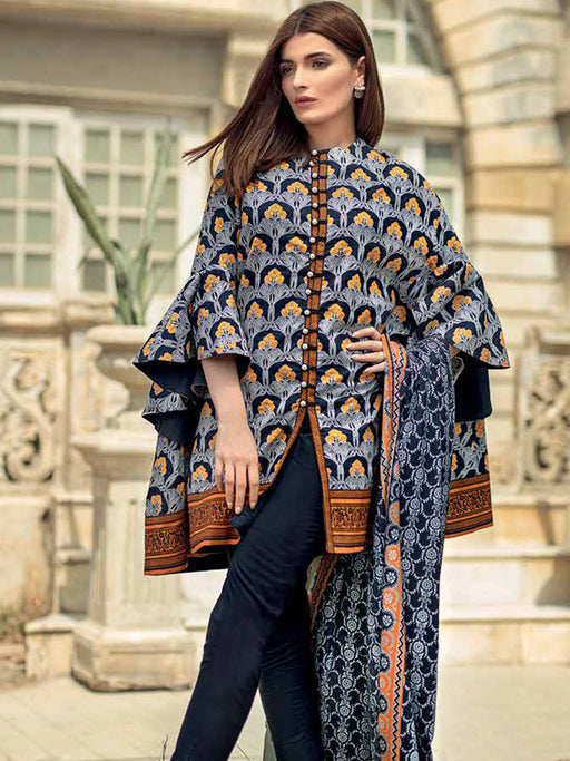 Gul Ahmed Winter Original Pakistani Dresses & Suits Collection 2018 - 022 wishcart.in