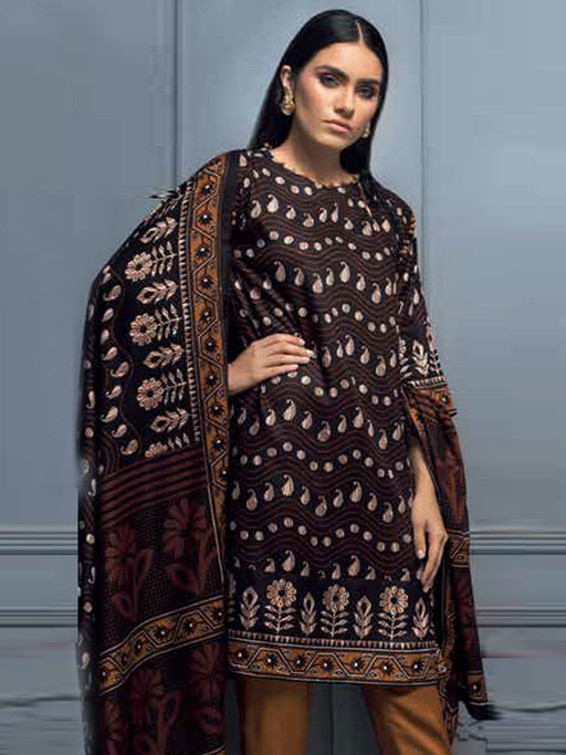 Gul Ahmed Winter Original Pakistani Dresses & Suits Collection 2018 - 017 wishcart.in