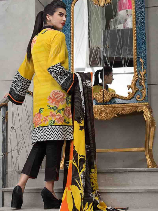 Gul Ahmed Winter Original Pakistani Dresses & Suits Collection 2018 - 007 wishcart.in