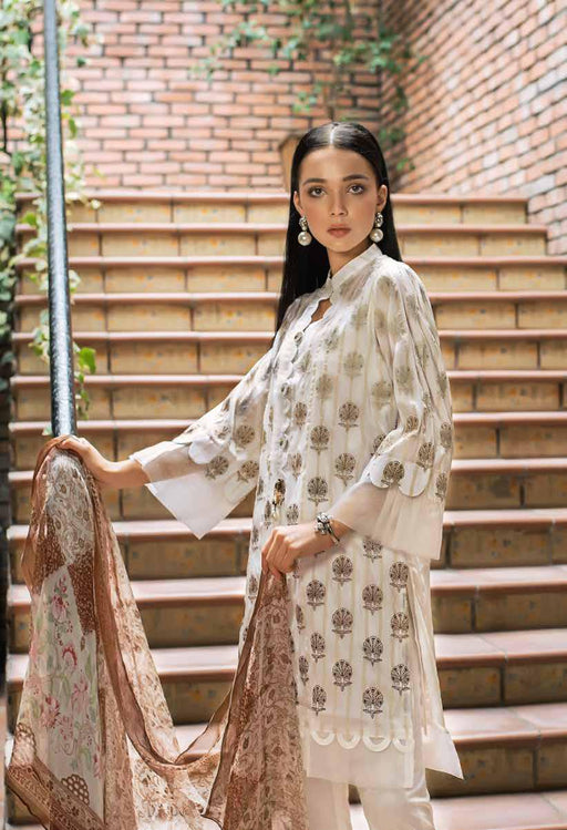Gul Ahmed Formal Original Pakistani Dresses & Suits Collection 2019 - Silken Pearl 02 wishcart.in