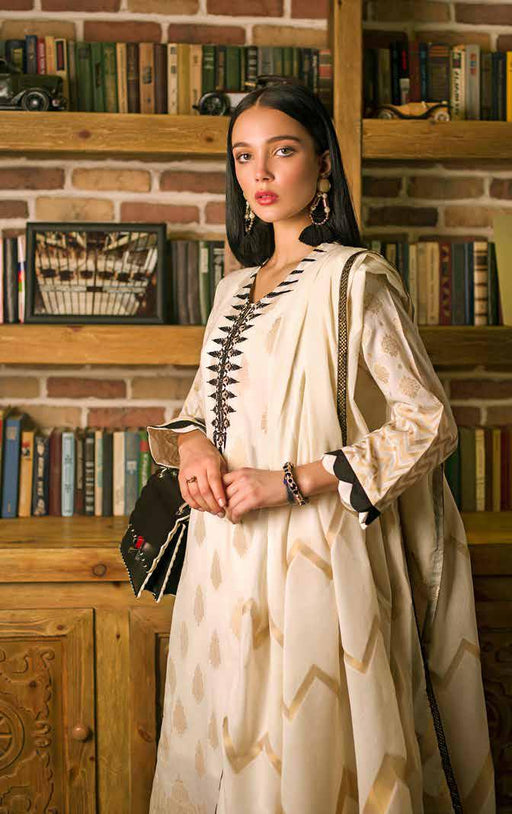 Gul Ahmed Original Pakistani Dresses & Suits Formal Collection 2019 - Peaks & Valleys 02 wishcart.in
