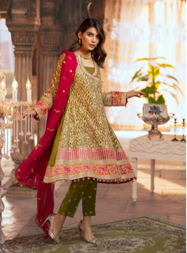 Designer Salwar kameez pattern by MaryumN Maria@wishcart.in