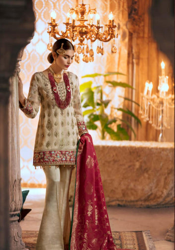 Chiffon unstitched suit@wishcart.in