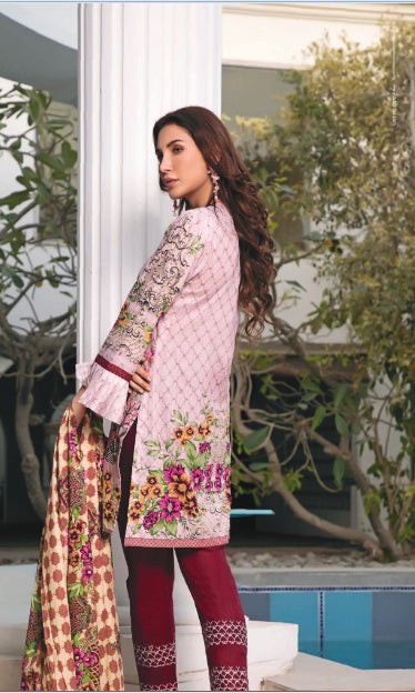 wishcart-store - Sahil Luxury Embroidered Lawn Festive Collection 2019 1B - wishcart-store -