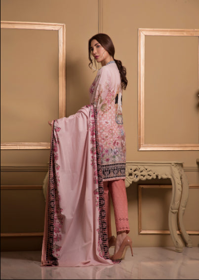 wishcart-store - Sahil Luxury Embroidered Lawn Festive Collection 2019 4A - wishcart-store -