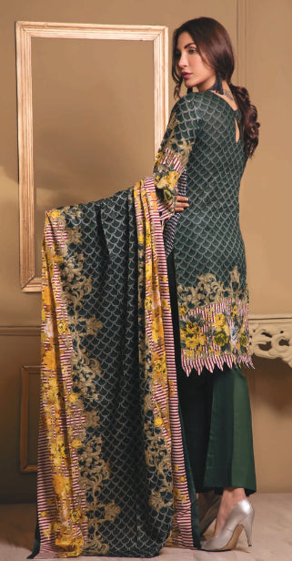 wishcart-store - Sahil Luxury Embroidered Lawn Festive Collection 2019 5A - wishcart-store -