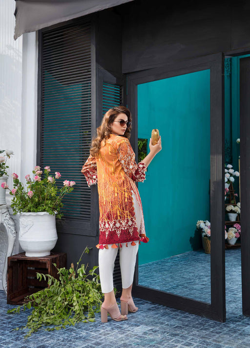 wishcart-store - Solitaire Kurti From Firdous Vol 2 '19 8A - wishcart-store -
