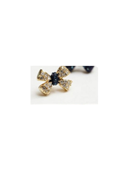 Bow earrings@wishcart.in