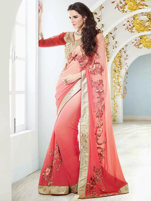 Designer wedding wear saree@wishcart.in