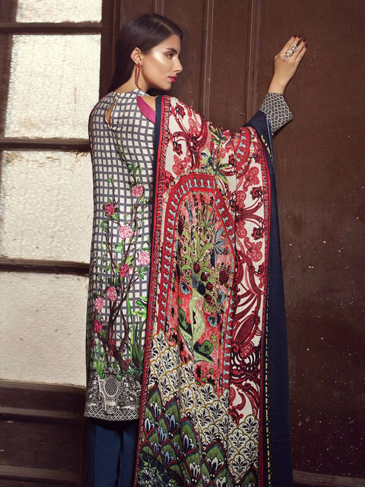 Gul Ahmed Winter Original Pakistani Dresses & Suits Collection 17 - 16 wishcart.in