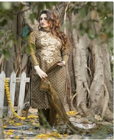 Rvee Gold Designer Suits Collection