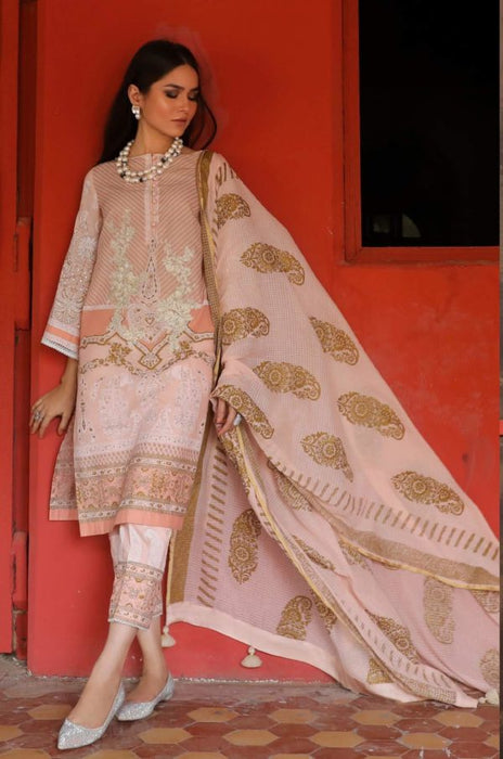 Wishcart.in Sana Safinaz Kurnool Lawn Original Pakistani Dresses and Suits 16A
